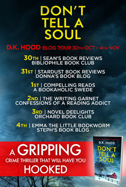 Don't Tell a Soul - Blog Tour