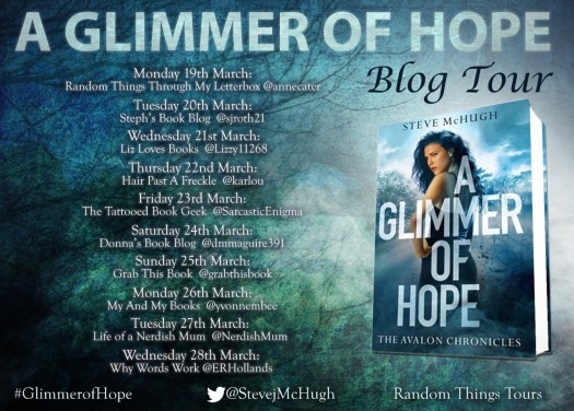 A Glimmer Of Hope Blog Tour Poster