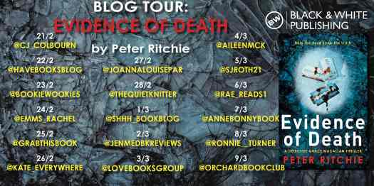 Evidence of Death BLOG TOUR copy