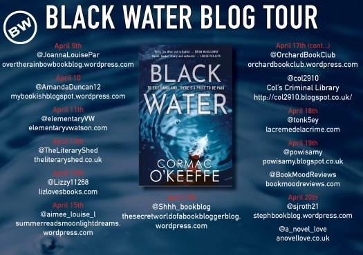 Black Water blog tour banner