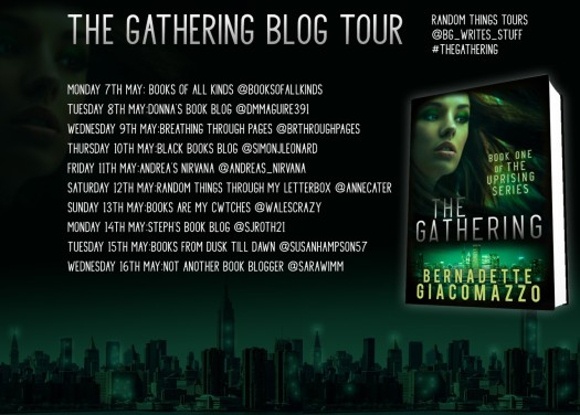 The Gathering Blog Tour Poster
