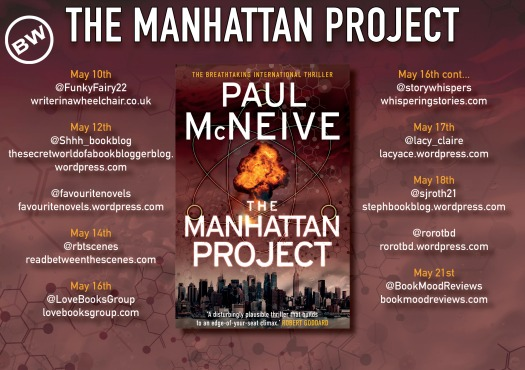 The Mangattan Project blog tour banner