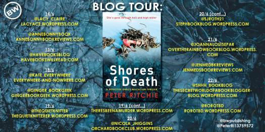Shores of Death BLOG TOUR
