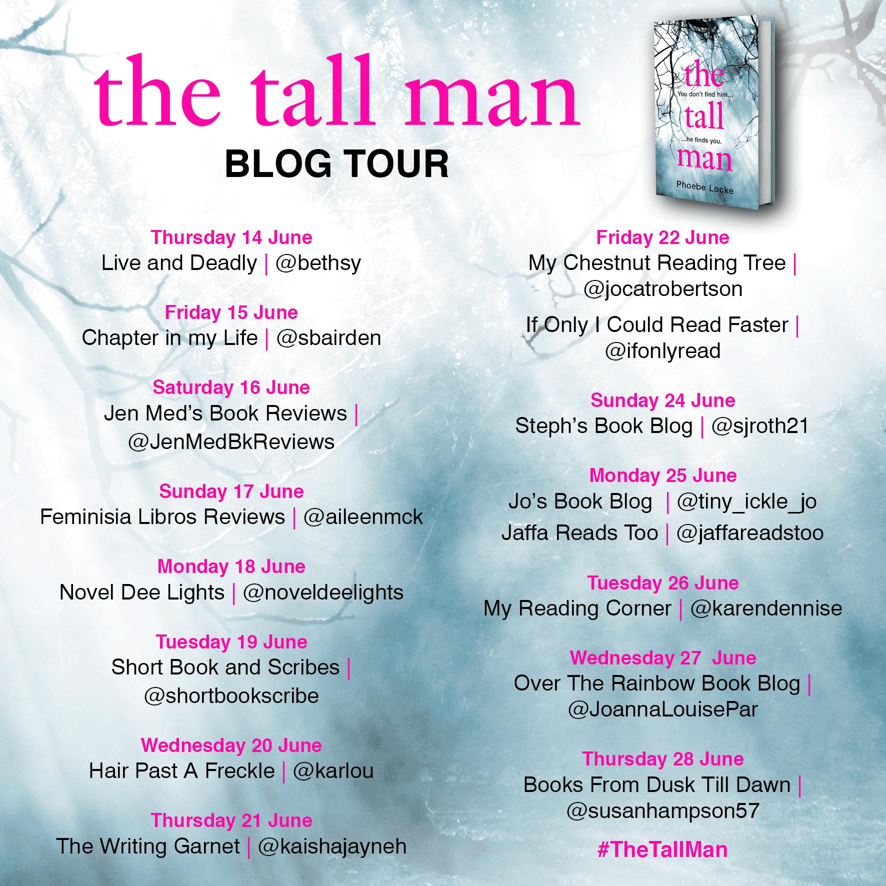 The Tall Man Blog Tour Poster