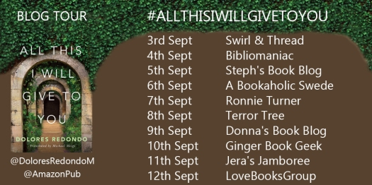 All This I Will Give To You Blog Tour Banner
