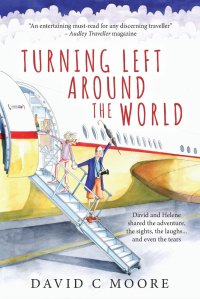 Turning Left Around the World Cover