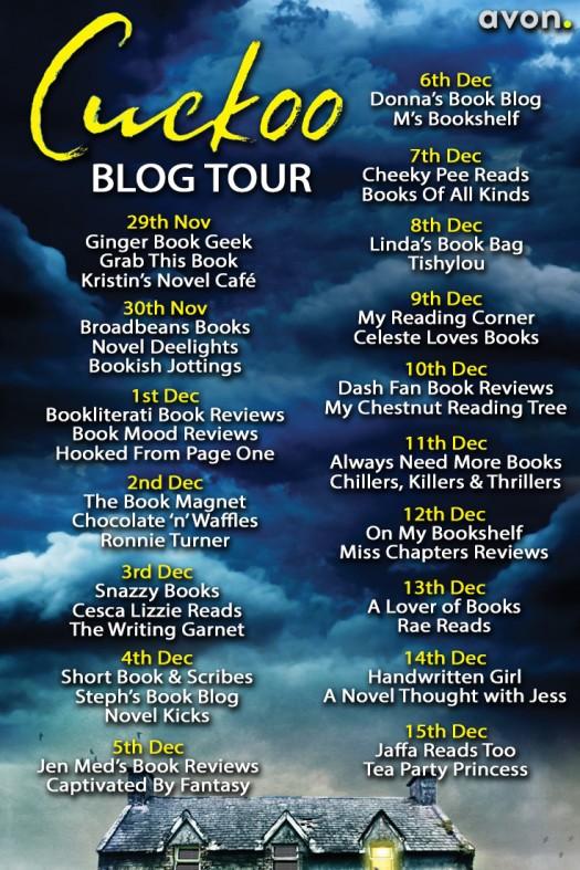 Cuckoo Blog Tour